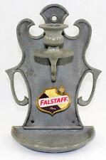 Vintage Falstaff Beer Metal Wall Sconce Candle Holder Union Made Chicago Minnpls