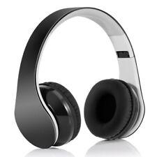 Foldable Wireless Headphones Headset w Mic Hands-free Earphones for CELL PHONES