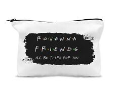Personalised Canvas Make Up Bag,Travel Bag, Friends TV Show.. Best Friend Gift