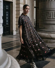 Giambattista Valli x H&M Long Lace and Floral Embroidery Dress Size M BNWT RARE