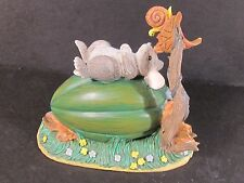 Charming Tails Silvestri Mouse On Acorn Squash With Snail Fall Theme 85/615
