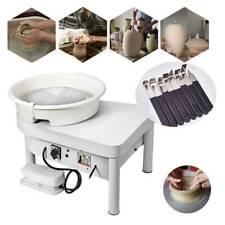 25Cm Electric Pottery Wheel Ceramic Machine Work Clay Art Craft Diy 110V 250W A+
