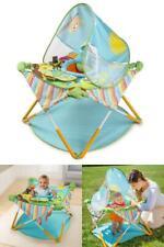 Infant Toddler Baby Activity Center Lightweight Folding Frame 3-level Adjustment