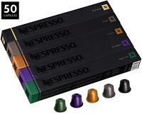 Nespresso Original Line 50 Capsules Variety Pack Assortment SHIPS FAST