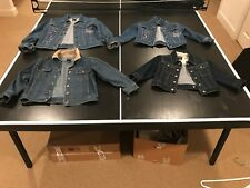 Lot of 4 Gap Denim Kids Jackets