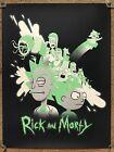 Rick And Morty Jeany Ngo Cartoon Tv Show Art Print Poster Mondo Glows In Dark!
