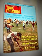 True Treasure Magazine April 1970 SUNKEN GOLD SILVER PROSPECTING-COINS MONEY