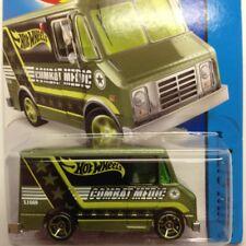 NEW Hot Wheels Combat Medic 2015 No 47 Green Genuine Sealed Ambulance Long Card