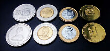DOMINICAN REPUBLIC 5 (x) SET OF 4 COINS, 1 5 10 25 PESOS 2008 2015, UNC (20 PCS)