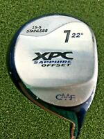 "XPC Sapphire Offset 7 Wood 22* / RH ~39.5"" / Ladies Graphite / Nice Grip /gw2733"