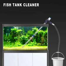 1 Set Fish Tank Gravel Cleaner Pump Siphon Water Clean Vacuum Aquarium Cleaning
