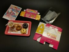 Megahouse Miniature lovely donuts & Drink To Go RARE 2005 A76