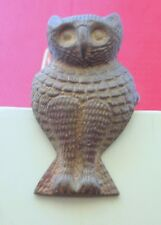 Owl Antique Style Brass  Paper Clip , Collectible