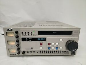 READ CONDITION JVC BR-S611U SVHS Video Cassette Recorder AS IS/ Parts