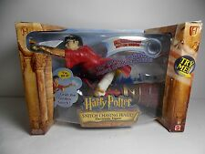 "Collectible Electronic Action Figure ""Snitch Chasing Harry"" HarryPotter 2001 NIB"