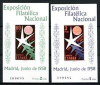Spanien MiNr. Block 13+14 postfrisch MNH Philatelie (Z465