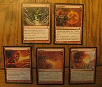 Chandra Deck Lot 1, LP, Duel Decks Jace vs Chandra, Classic Red Burn
