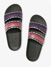 NIP Victoria/'s Secret PINK Bling Slides LONDON SPARKLE Size Small 5//6
