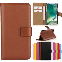 Luxury For iPhone X 8 7 6S Plus Flip Stand PU Leather Wallet Phone Case Cover