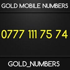 GOLD 0777 GOLDEN EASY VIP DIAMOND PLATINUM 0777 MOBILE NUMBER 07771117574