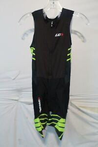 Louis Garneau Pro Carbon Triathlon Suit Men's XS Yellow Retail $145