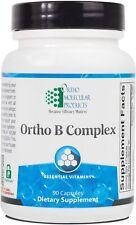 Ortho Molecular - Ortho B Complex - 90 Capsules exp 07/2020