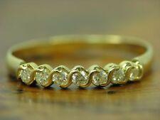 18kt 750 GOLD RING MIT 0,28ct BRILLANT BESATZ / DIAMANT / RG 60,5 / 2,1g