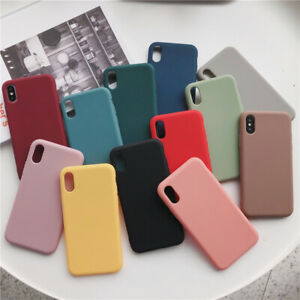 Case for iPhone 12 11 PRO MAX 7 8 Plus X XS XR Silicone Shockproof Soft Cover