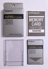 Roland M-256D Memory Card RAM 32K Bytes, Complete (1 of 2)