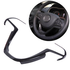 Carbon Fiber Color Steering Wheel Cover Trim  for Jeep Grand Cherokee 2014-2018