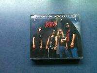 Slayer - Decade Of Aggression LIVE - 2 CD Big Box 1991 / TOP - ZUSTAND ( RAR )