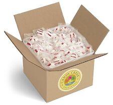 Candy Creek Zany Cane Peppermint Lollipops, Bulk Candy 5 lb. Carton, about 300