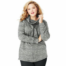 9500adc747b French Terry Plus Size Tops & Blouses for Women for sale | eBay