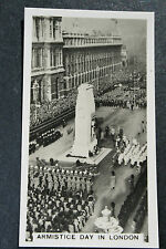 Cenotaph  Armistice Day    1930's Vintage Photo Card