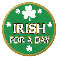 Beistle Irish For A Day Button St. Patrick's day party supply 8503