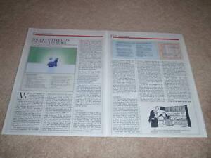 Shure V15 Type V-MR Cartridge Review,2 pgs,1984,V-15