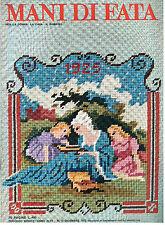 MANI DI FATA DICEMBRE 1972 ANNO XLVII N 12 LAVORI FEMMINILI TAGLIO CUCITO RICAMO