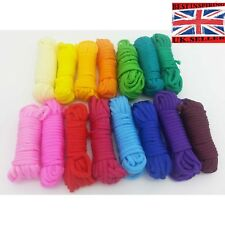 Paracord Pack 15 Color Rolls Multi-Colored Assortment  Paracord Parachute Rope