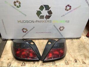 Vauxhall Astra H Sri Vxr 3dr Rear Lights Set Pair O/S N/S Drivers Passenger