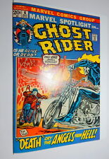MARVEL SPOTLIGHT #6  NM + 9.6 / 9.8 GHOST RIDER ORIGIN ISSUE CGC ready PLOOG