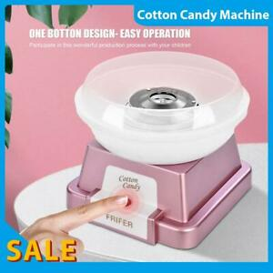 Electric Cotton Candy Machine White Floss Carnival Commercial Maker Child Party