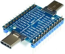 USB3.1 Type C Male to Male pass through adapter breakout USB3.1-CM-CM-V1A