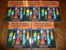 NEW Lot of 5 copies WE ARE GRATEFUL picture book CHEROKEE GUIDED READING Lit Cir