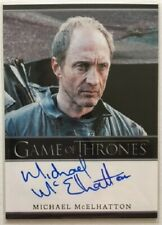 Michael McElhatton Autograph as Roose Bolton from Game of Thrones Season 3