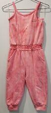 Kensie Girl Romper Tie Dye Pink  4t