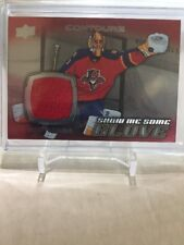 2015-16 Contours Hockey Roberto Luongo Game Used Patch Panthers