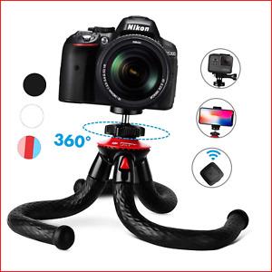 "Camera Phone Tripod Fotopro 12"" Flexible Waterproof Tripod with Travel Tripod &"