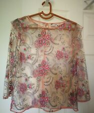 Lace top size 14