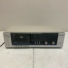 Sanyo Rd S22 Vintage Stereo Single Cassette Deck tested work - Made in Japan