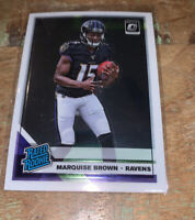 Marquise Brown 2019 Donruss Optic RATED ROOKIE #162